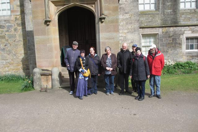 Walking Group at Lauriston